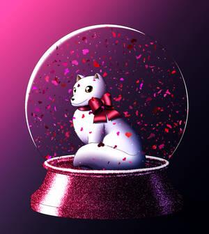Lux Snowglobe by Chibi-Sugar