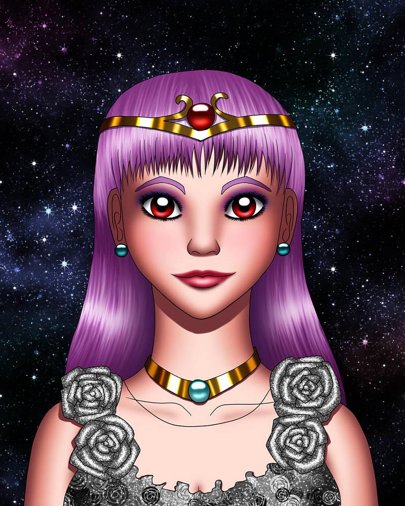 Queen Sasha ArtTrade by Chibi-Sugar