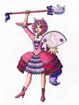 Pink Unicorn Magical Girl