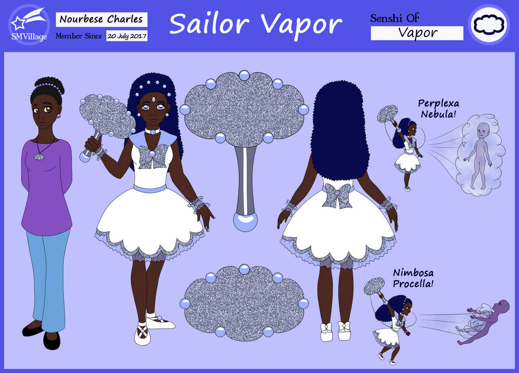 SMV Sailor Vapor - Nourbese Charles by Chibi-Sugar