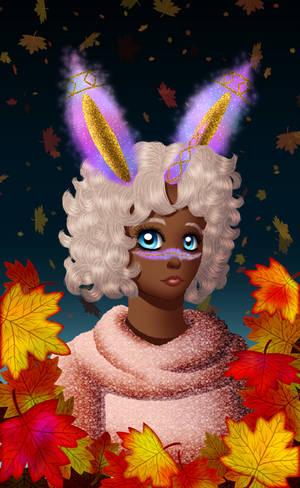Halloween Headshot Exchange Pupu by Chibi-Sugar