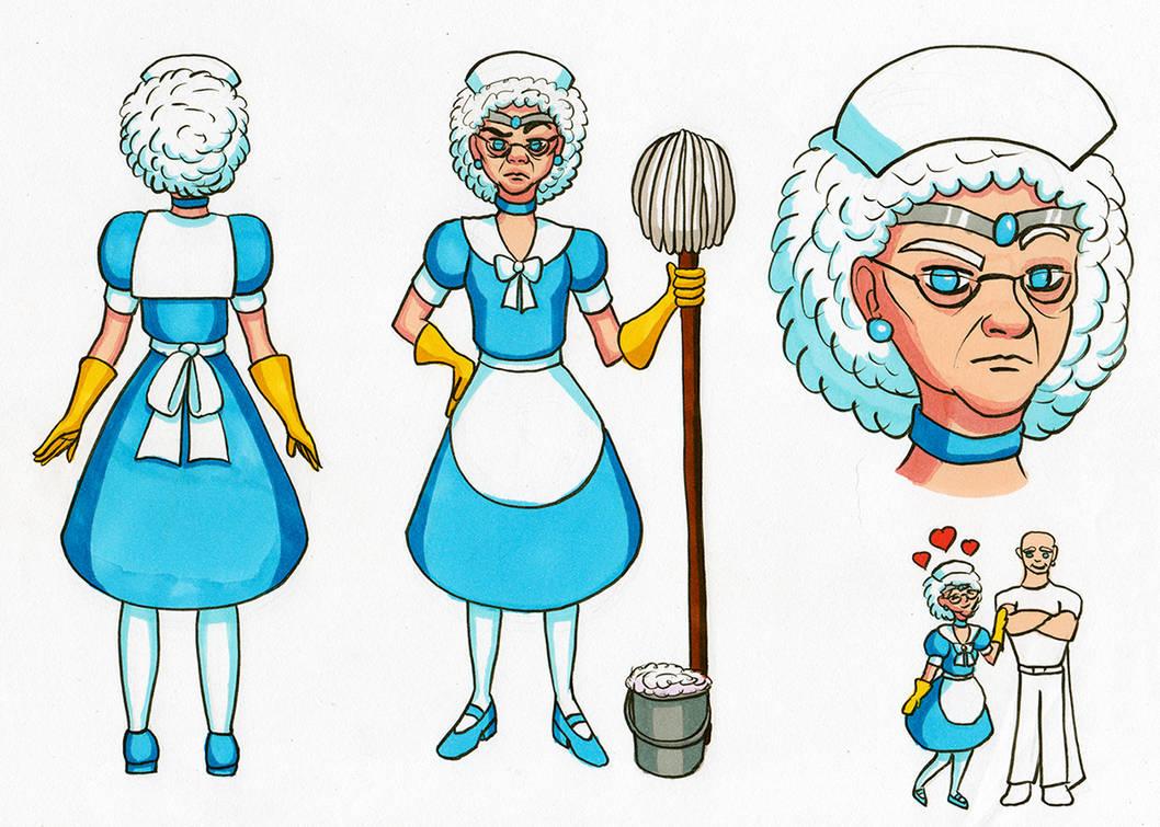 Sailor Bubbles by Chibi-Sugar