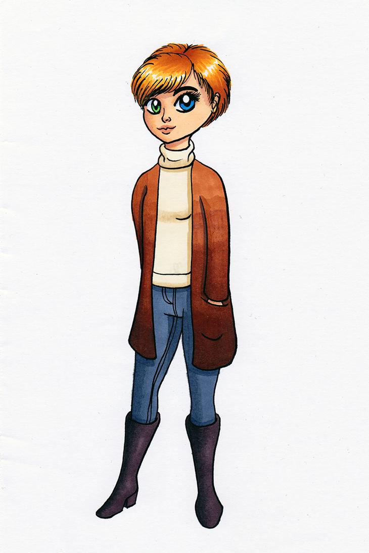Heterochromia Girl by Chibi-Sugar