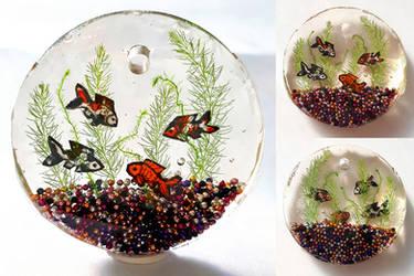 UV Resin Fishbowl by Chibi-Sugar