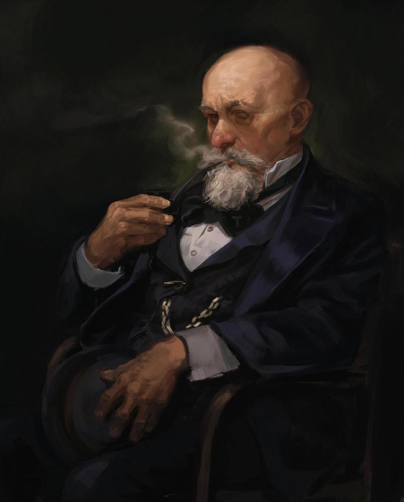 Old man by SilviuSadoschi