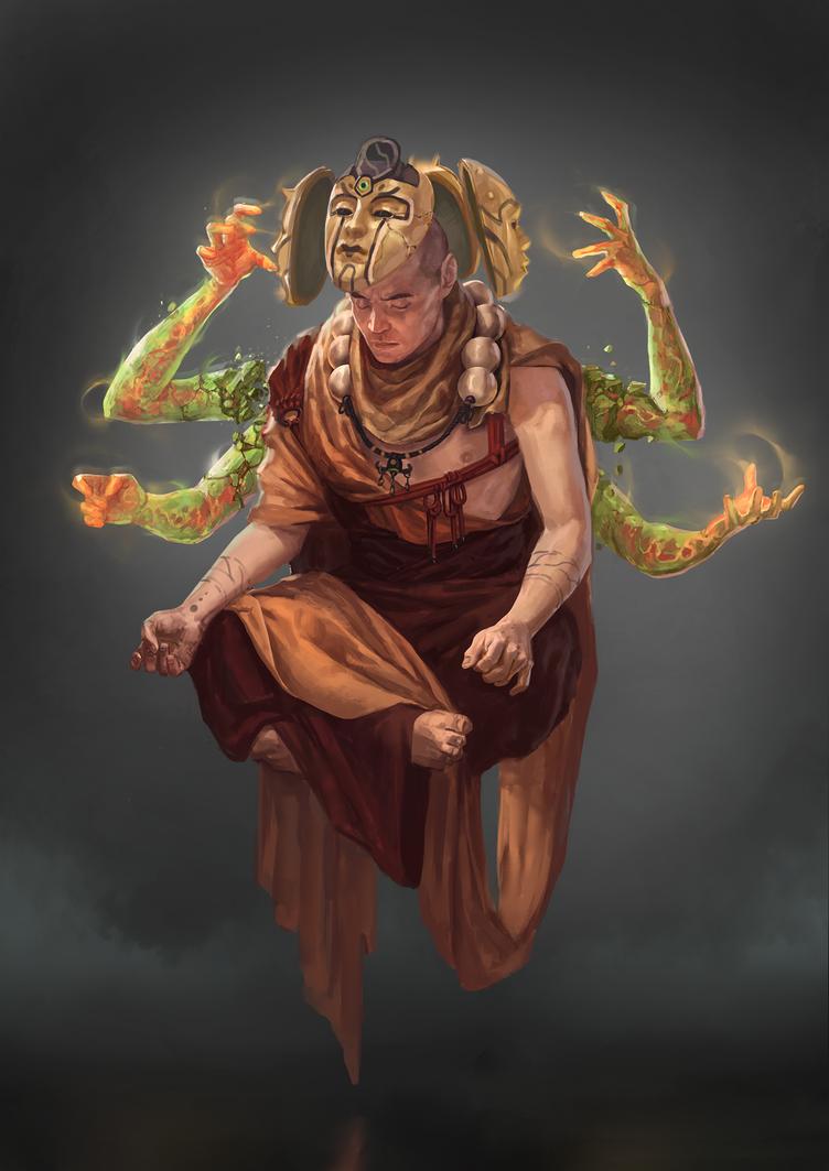 Monk by SilviuSadoschi
