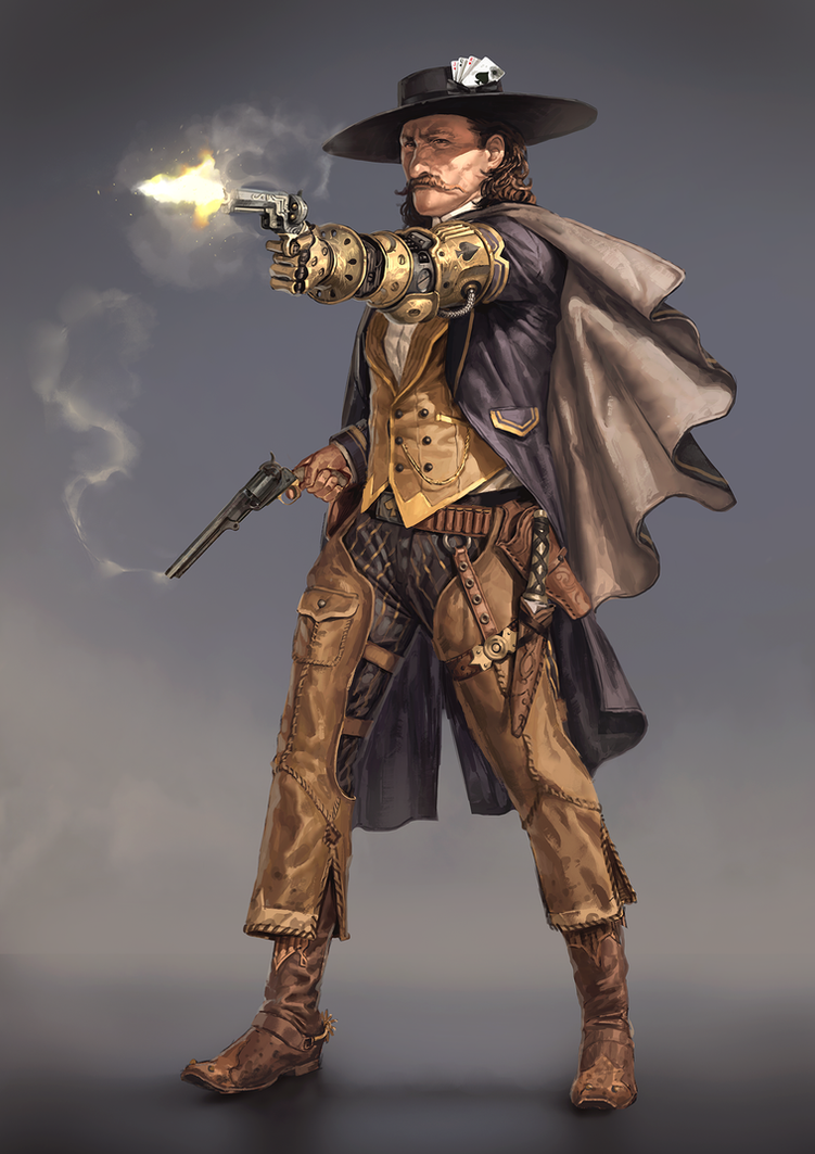 Wild Bill Hickok by SilviuSadoschi