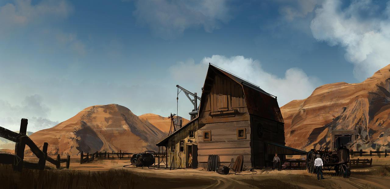Old  Spot Farm by SilviuSadoschi