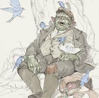 Blue Birds by SilviuSadoschi