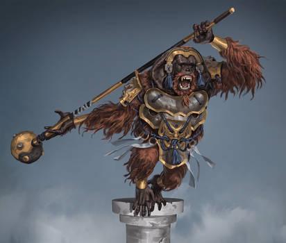 Armored Orangutan