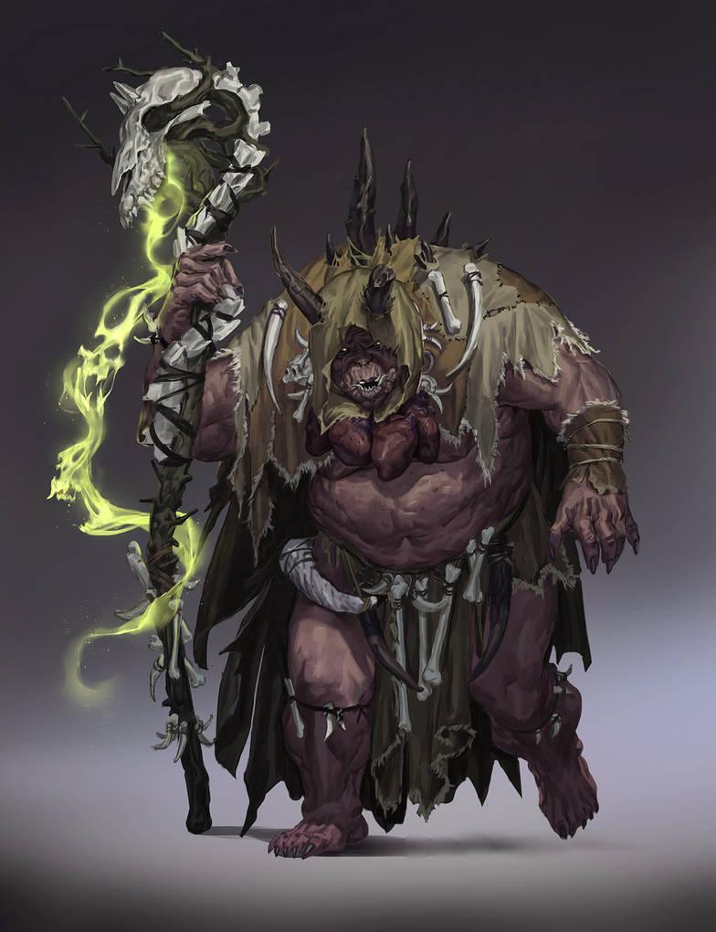 Oni Shaman by SilviuSadoschi
