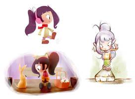 children's book style tests by minomiyabi