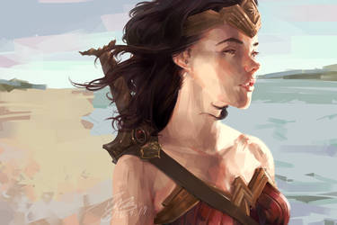 Wonder Woman : Reprise by minomiyabi