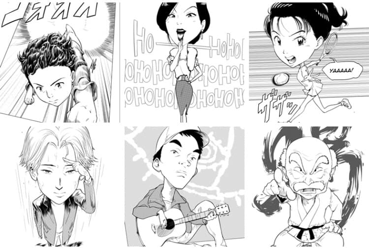Inspired by Naoki Urasawa by minomiyabi
