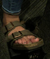 College Girl Candid Feet