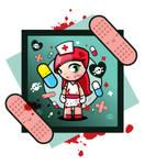 Evil nurse Lolita