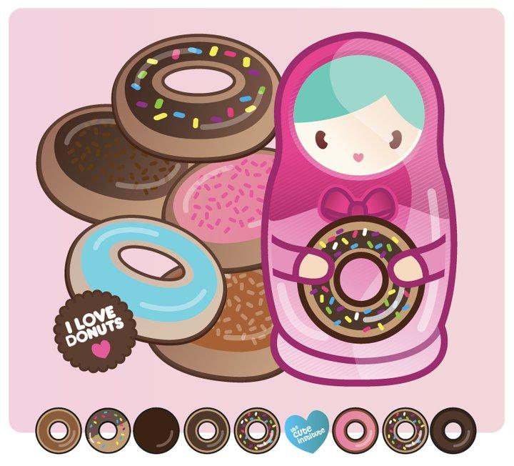 I luv donuts by ladysnowbloodz