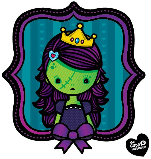 zombie princess by ladysnowbloodz
