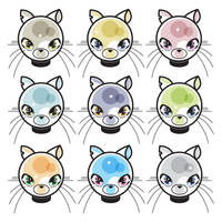 Kitty klones by ladysnowbloodz