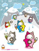 kitty sweets by ladysnowbloodz