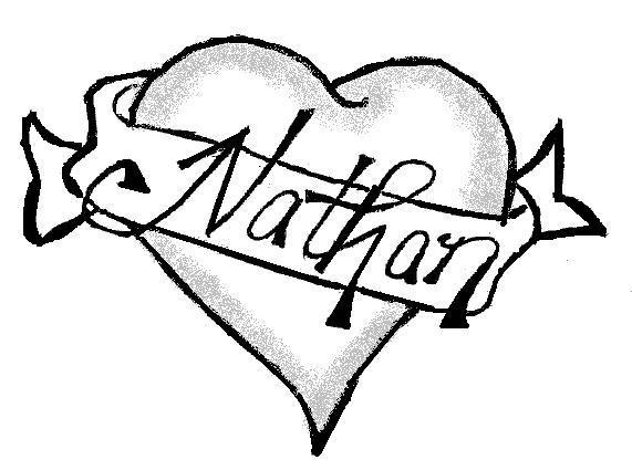 Tribal Heart With Banner alysha's De...