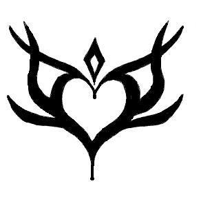 The Store's Items Tribal_Heart_Design_by_alysha