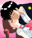 Sailor Moon and Tuxedo Mask?