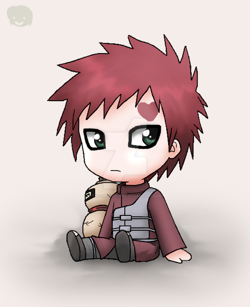 Naruto: Chibi Gaara-sama by The-PirateQueen on DeviantArt Gaara And Naruto Chibi
