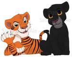 JB: Bagheera and Shere Khan