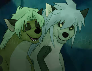Transformed into hyenas by The-PirateQueen