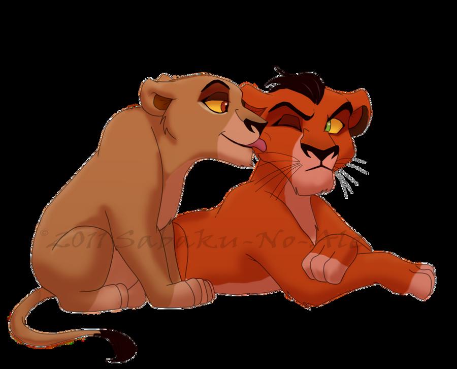 el rey leon 0 Taka_and_zira_by_sabaku_no_ale-d4csmyi