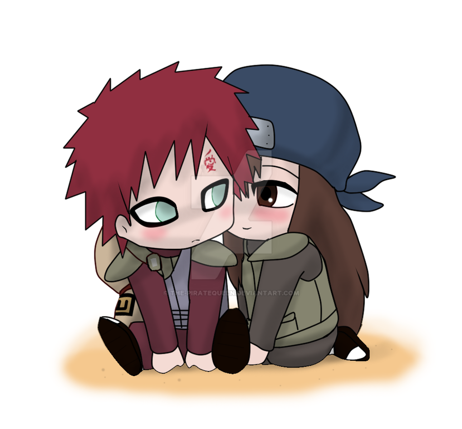 P.C: Chibi Gaara and Sari by The-PirateQueen on DeviantArt Gaara And Naruto Chibi