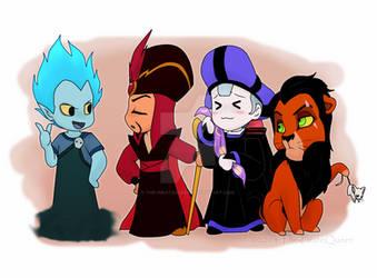 Some Disney Villains again