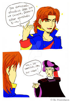 UglyDoodleColored: Karny and Frollo
