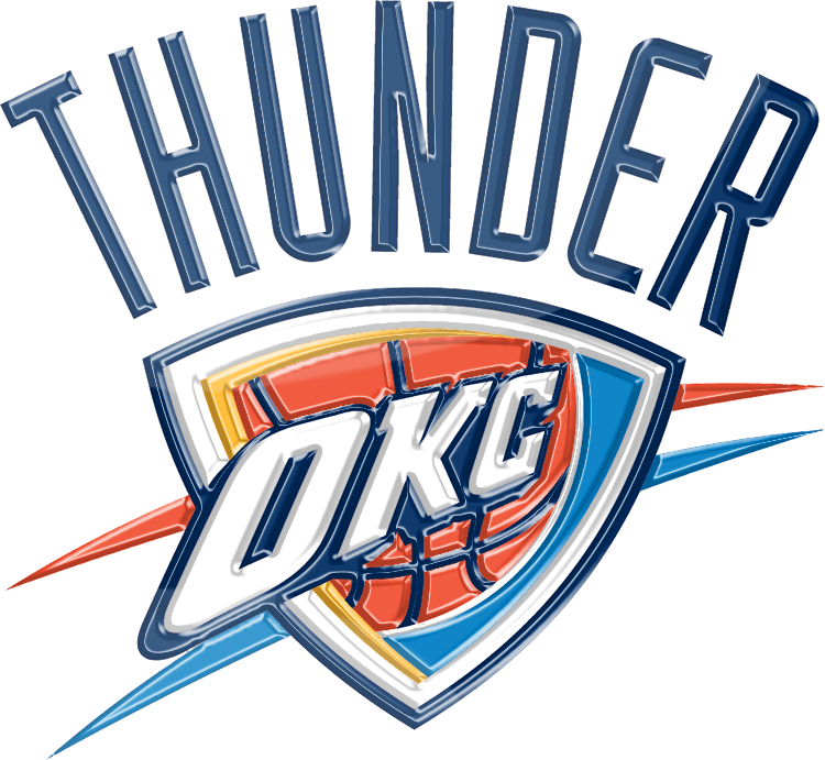 Blazers Thunder Reddit: Oklahoma City Thunder 3D Logo By Rico560 On DeviantArt