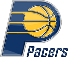 Indiana Pacers 3D Logo by Rico560