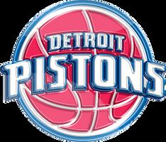 Detroit Pistons 3D Logo by Rico560
