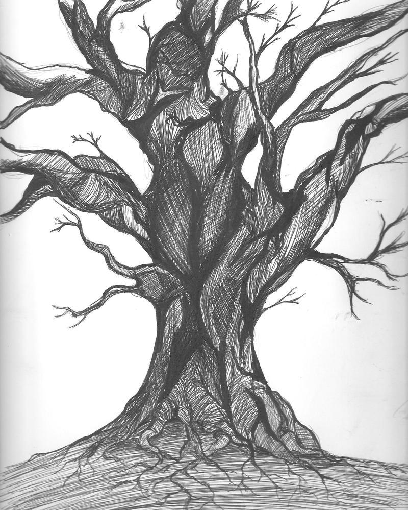 Dark Tree by mangamax7 on DeviantArt