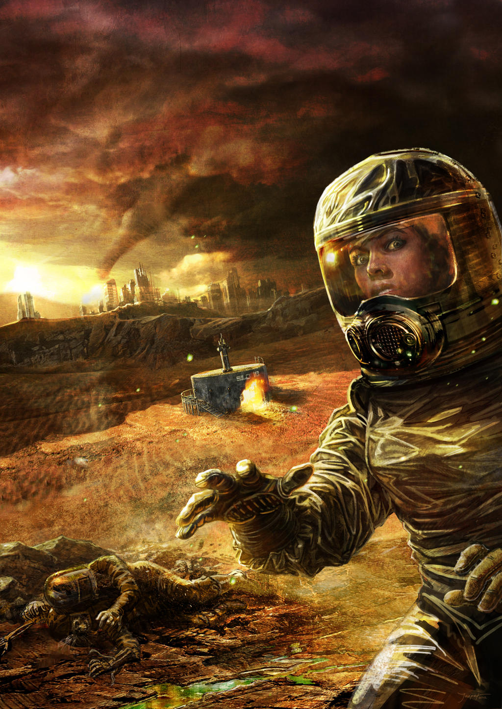 Vintage Sci-Fi by joshnewtonart on DeviantArt
