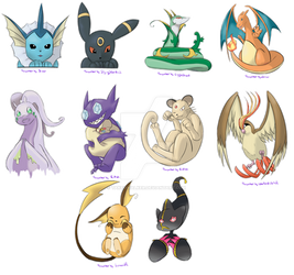 [Pokemon] First round_Straps or charms