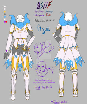 [Reference] Azur (Undertale AU_ASUF)