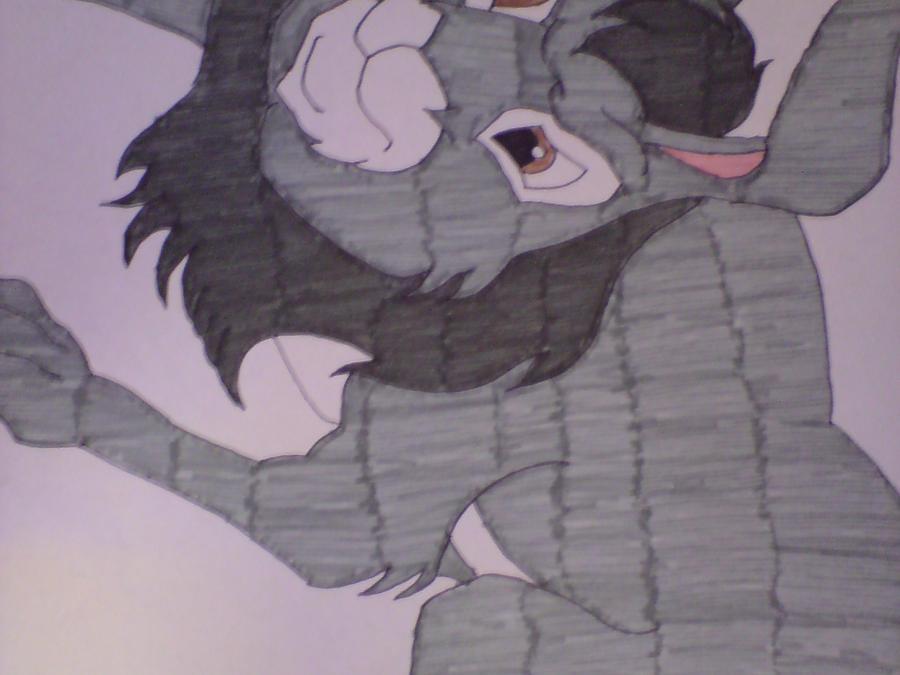 Bigwig ready to pounce by cartoonprincessML