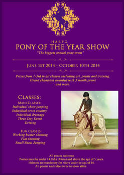 Pony Of the Year Show!!!