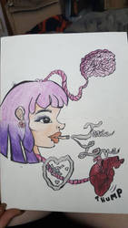 Toxic Love Colored  by foxfoxfox3