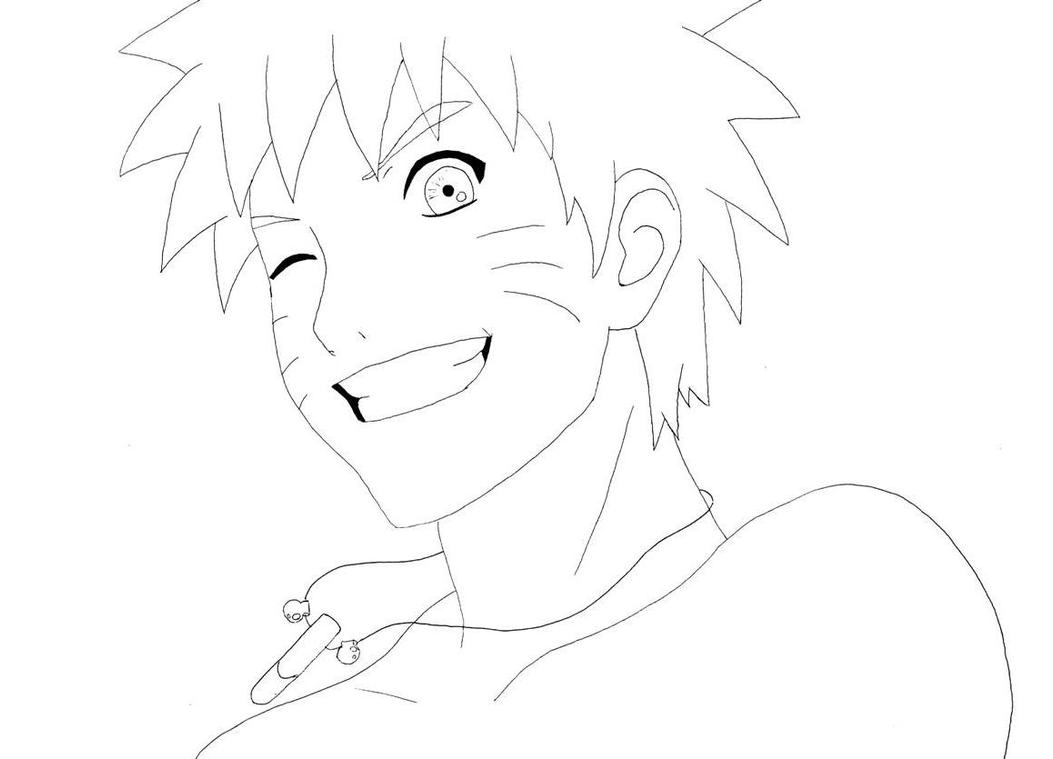 Naruto Lineart : Naruto lineart by ayrou yee on deviantart