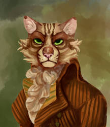 Furry Robespierre by moldypaw