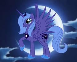 Princess Luna by mlpAzureGlow