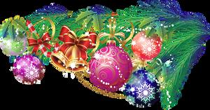Christmas tree branch 1