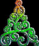 Christmas tree 2 by EXOstock
