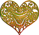 Alien heart 200 px by EXOstock